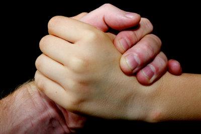 Nur gesunde Hände können gut zupacken.