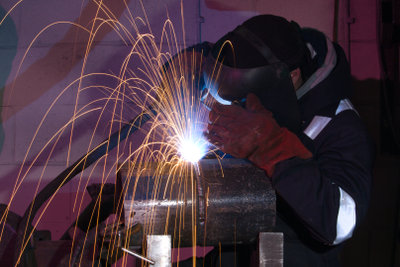 Überall im Stahlbau - MIG/MAG-Schweißverfahren.