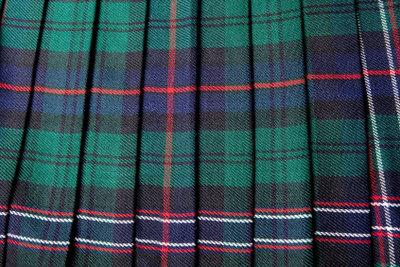 Entwerfen Sie einen Schottenrock!