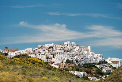 Andalusien hat viele weiße Dörfer.