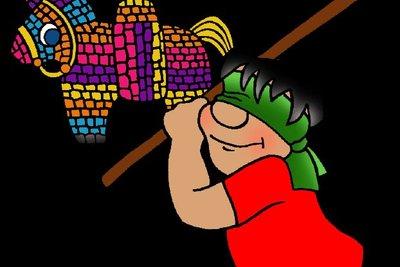 Die Piñata birgt viele Überraschungen in sich (phillipmartin.info).