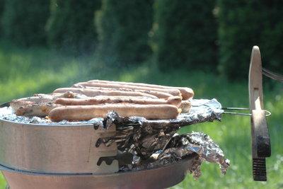 Grillen mit einem Gasgrill ist einfach.