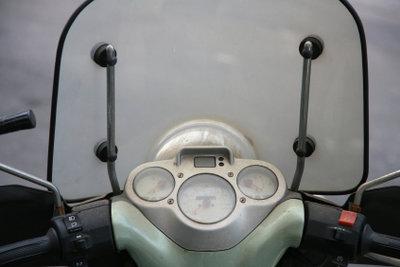 Ein Autonavi beim Motorrad verwenden.