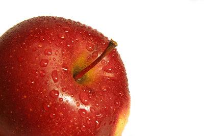 Vor dem Sport besser keine Äpfel.