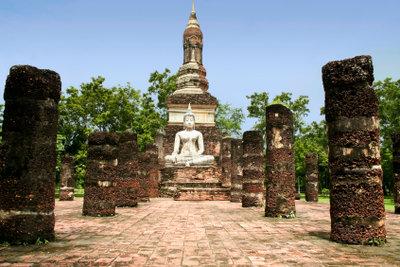 Der Buddhismus hat eine alte Tradition.