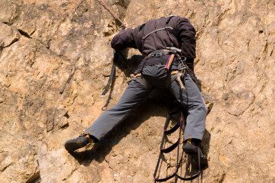 Auf Mallorca können Sie auch klettern.
