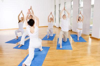 Nach dem Yoga kann Muskelkater auftreten.