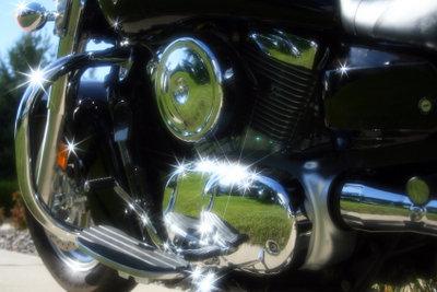Nur gepflegte Motorräder bleiben schön.