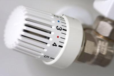Jeder Thermostatkopf ist ersetzbar.