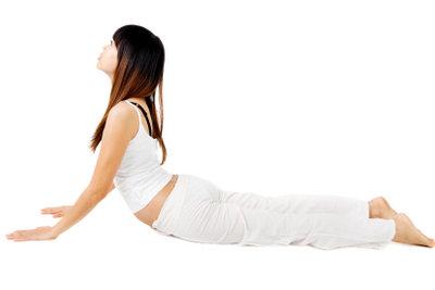 Dehnübungen sind wichtiger Bestandteil vieler Sportarten.