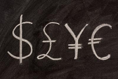 Währungskurs bestimmen und in Euro umrechnen.