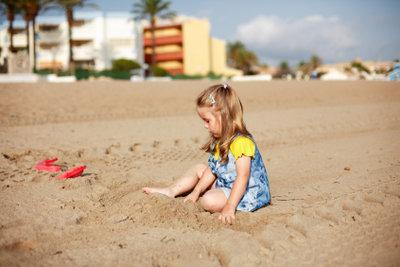 Auch Kinder leiden unter Sonnenallergie!