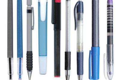 Viele Stifte eignen sich als Spinning-Pens.