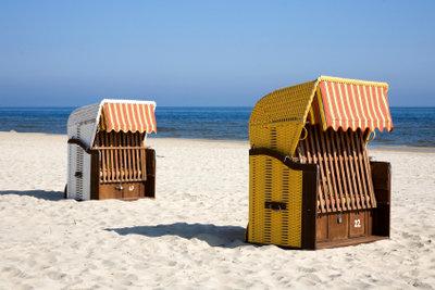 Saisonarbeitsplatz als Strandwart an der Ostsee.