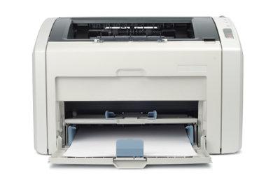Eingetrocknete Toner machen den Drucker untauglich.