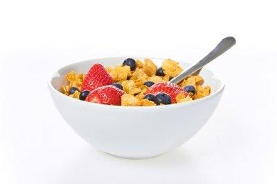 Ein Müsli zum Frühstück ist gesund!