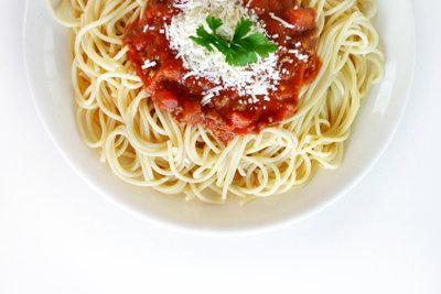 Pasta ist lecker und gibt Energie!