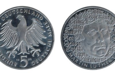 5-Mark-Münzen können wertvoll sein.