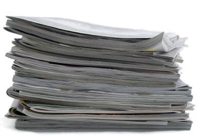 Zeitungsartikel brauchen einen spannenden Einstieg.