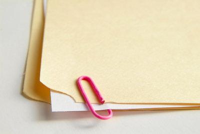 Die erste Dokumentseite sieht oft anders aus.