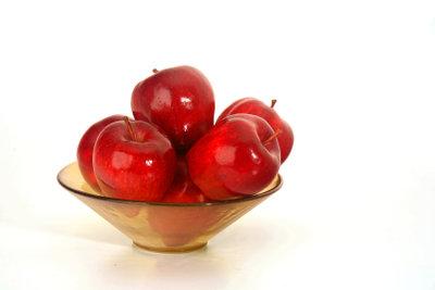 Äpfel sind ein gutes Beispiel für den Dreisatz.