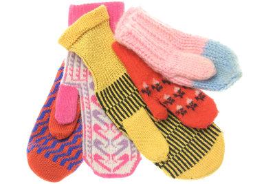 Handschuhe stricken ist nicht schwer.