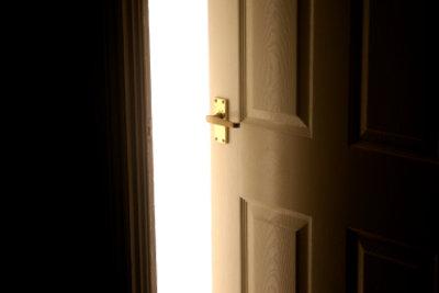 Eine neue Tür kann teuer sein.