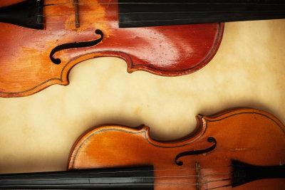 So finden Sie die richtige Geige.