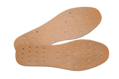 Orthopädische Schuheinlagen sind oft notwendig.