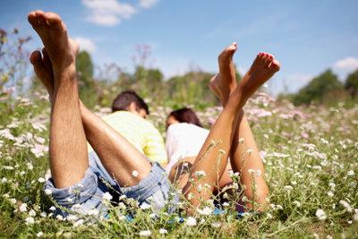 O-Beine sind leicht zu kaschieren.