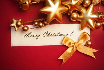 Weihnachtseinladungen selber erstellen, hat Stil.