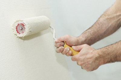 Wände immer mit hochwertigen Farben streichen