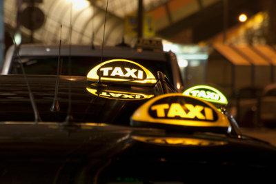 """Taxifahrer brauchen eine """"weiße Weste""""."""