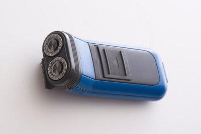 Trockenrasierer ermöglichen eine sanfte Rasur.