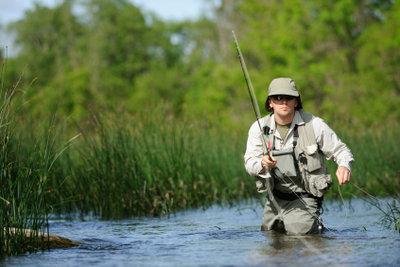 Anfänger können auch große Fische fangen.