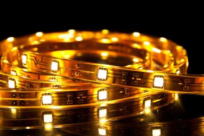 Mit LEDs kreieren Sie tolle Lichteffekte.