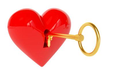 """Um das Herz eines Mannes zu gewinnen, braucht """"Frau"""" den richtigen Schlüssel dazu."""