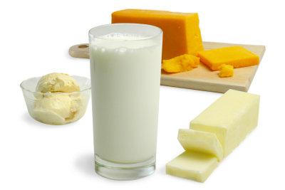 Laktoseintoleranz kann plötzlich auftreten.