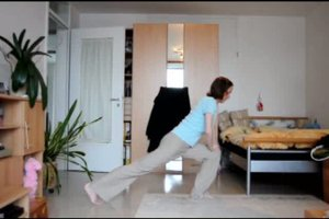 Fürs Badminton aufwärmen - einfache Übungen