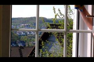 Fenster putzen - so klappt's streifenfrei