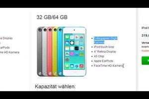Unterschied von iPod Touch 4G und 5G einfach erklärt