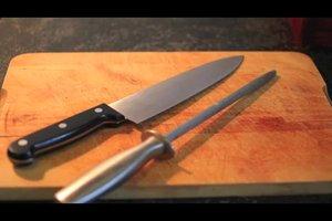 Messer schärfen  - Anleitung