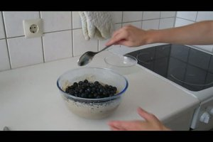 Muffins ohne Ei - Backrezept