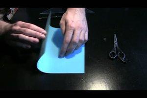 Anleitung - Briefumschlag falten