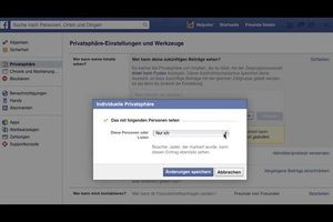 Facebook-Profil einschränken - so ändern Sie Ihre Einstellungen
