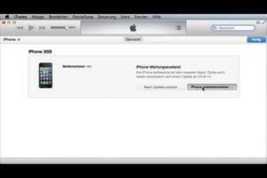 iPhone im Wartungszustand wiederherstellen - so gelingt es Ihnen