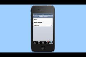 Bei WhatsApp offline gehen am iPhone