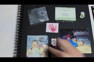 Wie man Fotos in ein Album kleben kann - so wird's kreativ und individuell