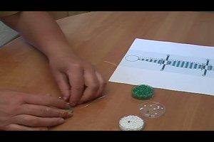 Perlentiere selber basteln - Anleitung für das Krokodil
