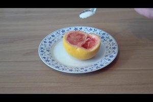 Wie isst man eine Grapefruit? - Die Anleitung